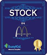Stock in McDonald
