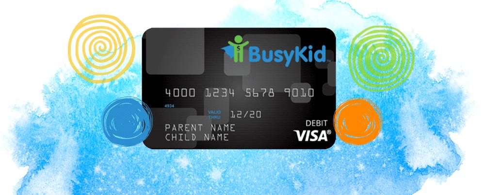 BusyKid VISA® Prepaid Spend Debit Card
