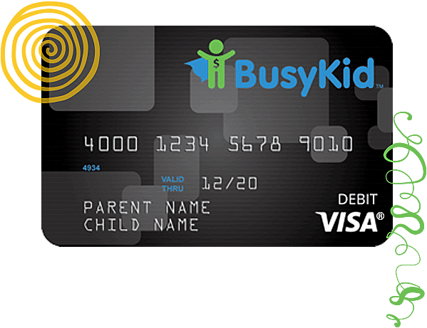 BusyKid VISA® Prepaid Spend Debit Card Price