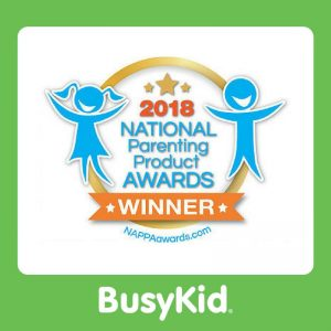 BusyKid Honored As National Parenting Product Award Winner