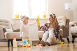 Top 20 chores your kids may be able to tackle this Spring