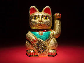 Animal-money symbolism - Cat